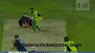 Kevin Pieterson hilarious lbw appeal