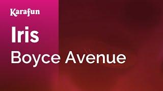 Karaoke Iris - Boyce Avenue *