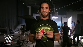 WWE Network: Go behind the scenes with Roman Reigns, Seth Rollins and Mattel