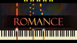 Spanish Romance (guitar piece) // PIANO