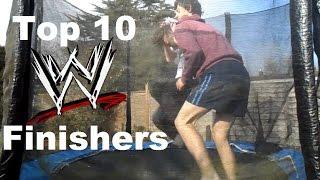 Top 10 WWE Finishers | itsmealex