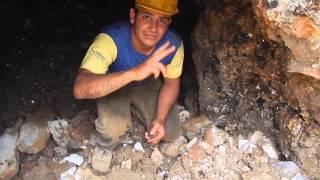 AQUAMARINE GEMS GEMSTONES DEADLY MINE TUNNEL GASES, ALMOST KILLED ME  @ LAVRA PEDRA GRANDE BRAZIL