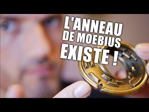 Cette illusion de Moebius existe dans la réalité en casse tête