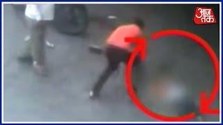 Shocking Incident Of Murder Captured On CCTV In Pune