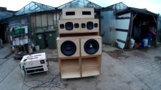 HPMC  Soundsystem Test (Uncutted) www.Project-insanity.org (Dub/Reggae Soundsystem)
