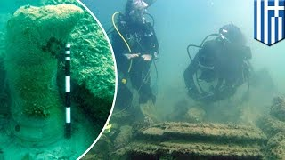 Lost city under water in Greece turns out to be bacterial geological formations - TomoNews