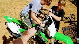 Finally going back to Scrubndirt mx track, Oh Baby!!