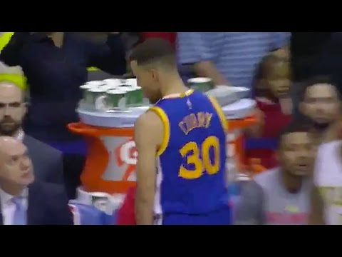 Stephen Curry Taunts Hawks Bench, Yells 'Mother Sucker' During Interview