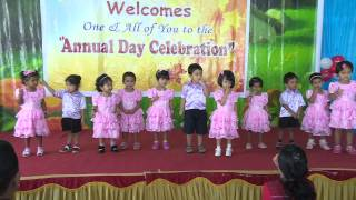 Kids performing dance - annual day - Bangalore - India