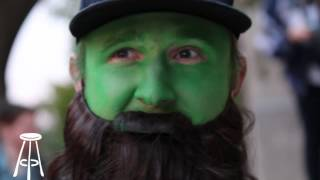 Feitelberg Dresses as the Green Monster