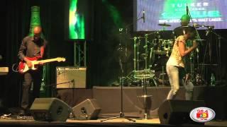 Zonke performing live in Kenya