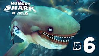 SUPER SIZE SHARK!! - Hungry Shark World | Ep6 HD
