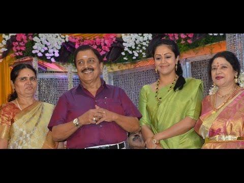 Suriya, Karthi and Jyothika attend Sivakumar's …