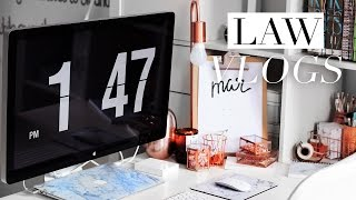 LAW SCHOOL VLOG #29 | Philosophy Essays, Library Sessions & The Silver Playbutton!