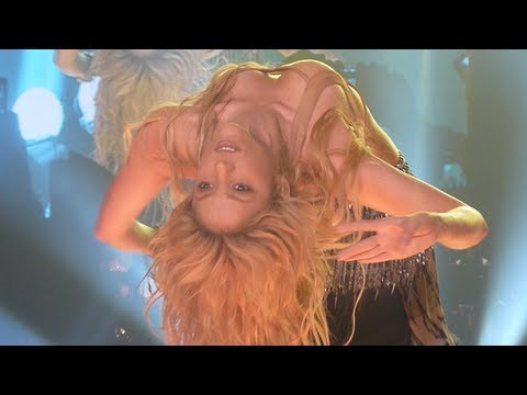 Shakira - Belly Dance, Ojos Asi (Antwerp, Sportpaleis - The Sun Comes Out Tour - Front Row HD)