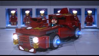 Lego Iron Man's New Car