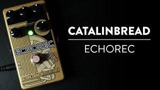 Riff And Run: Catalinbread Echorec Drum Delay Demo