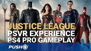 Justice League PSVR Experience PS4 Pro Gameplay: Batman, Superman, Wonder Woman | PlayStation VR