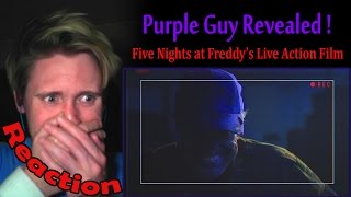 Five Nights At Freddy's Purple Guy Revealed REACTION! | HIS BIRTHDAY! |