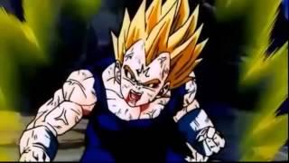 Goku vs Majin Vegeta Pelea Completa