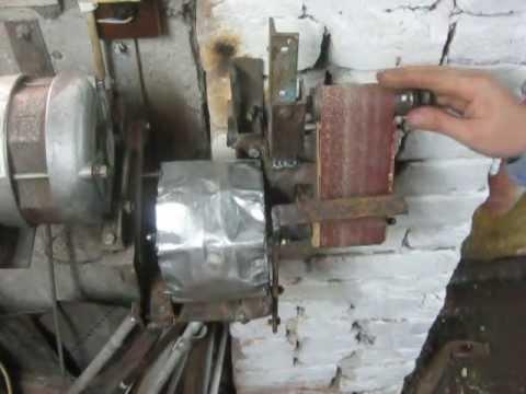 Гриндер с двигателем от стиральной машины своими руками 86