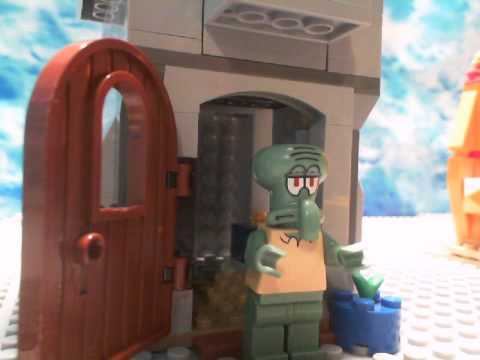 Lego Spongebob parody The Paper