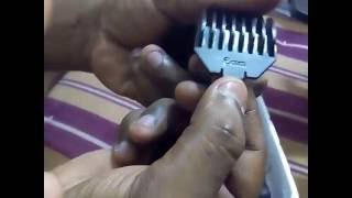 Nova Professional Trimmer NS-216 Unboxing Video