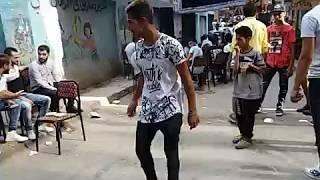 رقص دق جامد في تنجيد في امبابة 2018 \ صالح فوكس ومحمد شقاوة وميشو التونسي