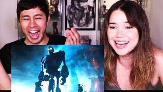 READY PLAYER ONE   Steven Spielberg   Comic Con 2017   Trailer   Reaction!