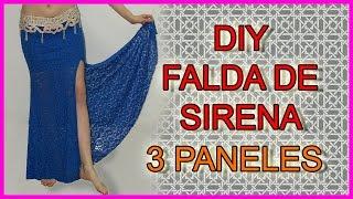 DIY- Falda sirena para bellydance