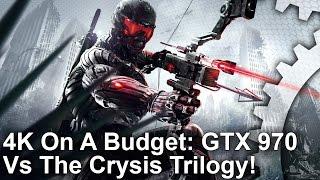 4K On A Budget! Can GTX 970 Run The Crysis Trilogy?