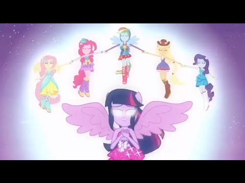 Equestria Girls vs. Rainbow Rocks vs. Friendship Games Transformaciones & Derrotas