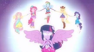 Equestria Girls vs. Rainbow Rocks vs. Friendship Games (Transformaciones & Derrotas)