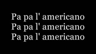 We no speak americano (lyrics)