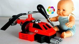 لعبة ميكانو طائرة هليكوبتر حمراء للاطفال العاب الطائرات والسباقات بنات واولاد plane puzzle toys