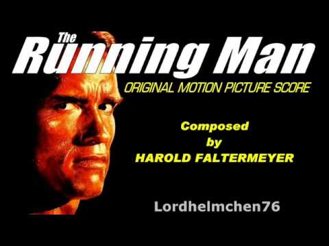 THE RUNNING MAN Soundtrack Score Suite Harold Faltermeyer