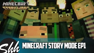Minecraft Story Mode Episode 1 Full Gameplay No Commentary