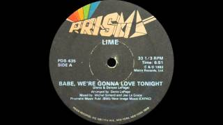 Lime II - Babe, We're Gonna Love Tonight (Prism Records 1982)
