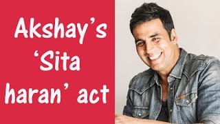 Akshay Kumar performs Sita haran act with sister - TOI uploaded on 2 day(s) ago 91 views