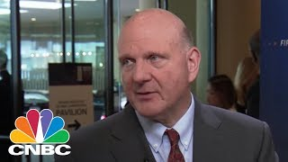 Former Microsoft CEO Steve Ballmer: On Government Data, Facebook Fallout | CNBC