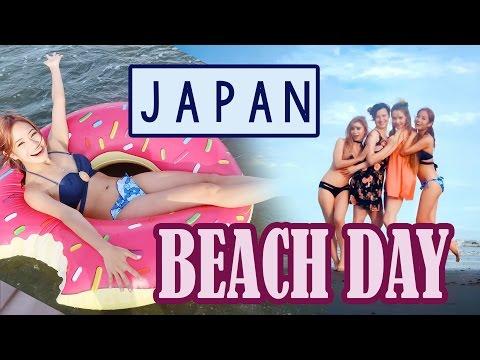 Girls Beach Day in JAPAN ~ KimDao in JAPAN