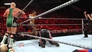 Matt Hardy, Tommy Dreamer, Evan Bourne & Finlay vs. Mark Henry, John Morrison, Miz & Chavo Guerrero