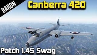 War Thunder Jets - Canberra B(I). Mk. 6 - British Jet Bomber with Guns! (War Thunder 1.45 New Jet)