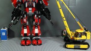 LEGO Ninjago  FIRE MECH Stop Motion