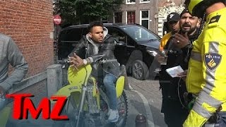 Chris Brown -- Stoned and Charming During Traffic Stop | TMZ