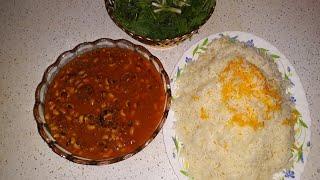 طرز تهیه یکی از ده خورشت اصیل ایرانی به نام خورشت چشم بلبلی همراه با خاله سیما