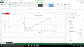 How to Plot a Graph in Excel Bangla