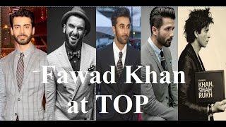 Top 10 Most Handsome Actors of Bollywood 2016   Fawad khan   Shahrukh khan   Hrithik roshan
