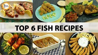 Top 6 Fish Recipes By Food Fusion 🐟