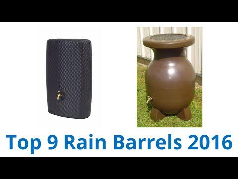 9 Best Rain Barrels 2016